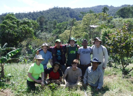 Engineers Without Borders students in Nicaragua.