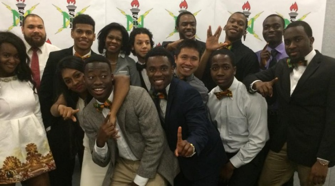 NSBE students at the 2015 Gala
