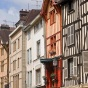 Troyes, France houses.