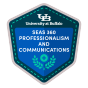 SEAS 360 Professionalism and Communications Badge.