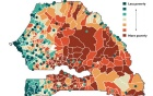 Updated poverty map of Senegal