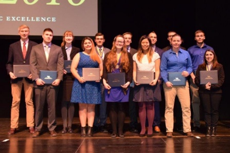 Student award winners