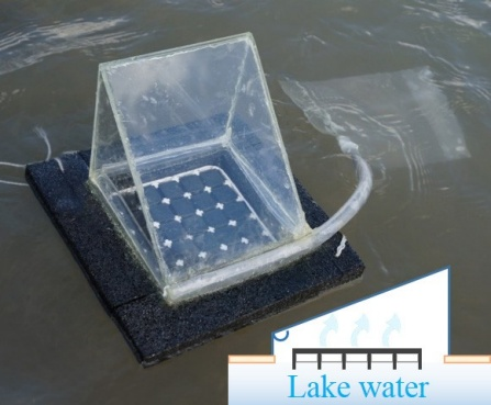 solar powered water purifier